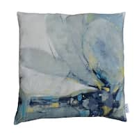 Contemporary Modern 25x25 Velvet Feather Cushion