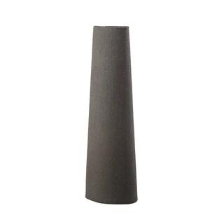 Aurelle Home Modern Grey Clay Vase