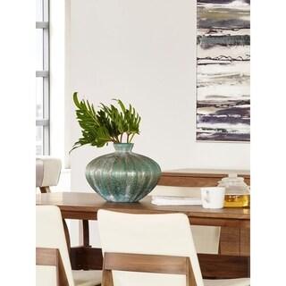 Modern Blue Large Glass Vase
