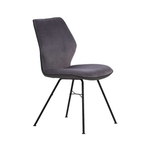 Contemporary Modern Slim-profile Upholstered Dining Chairs (Set of 2)