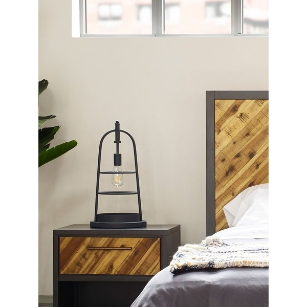 Aurelle Home Laura Industrial Farmhouse Table Lamp