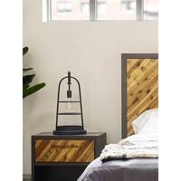 Aurelle Home Industrial Farmhouse Table Lamp