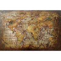 Aurelle Home Vintage World Map Wall Decor
