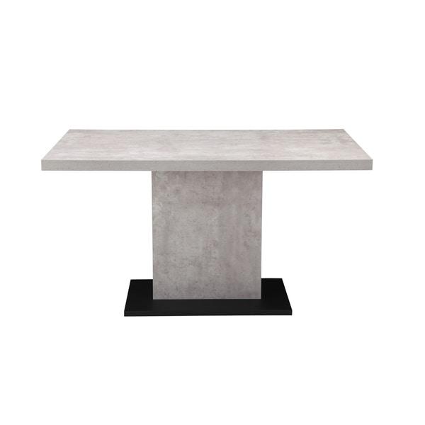 Aurelle Home Modern Concrete Kitchen Table - Grey. Opens flyout.