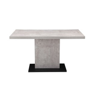 Modern Faux-stone Dining Table - Grey