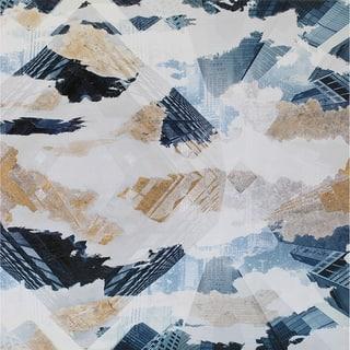 Aurelle Home Contemporary Abstract Canvas Wall Decor