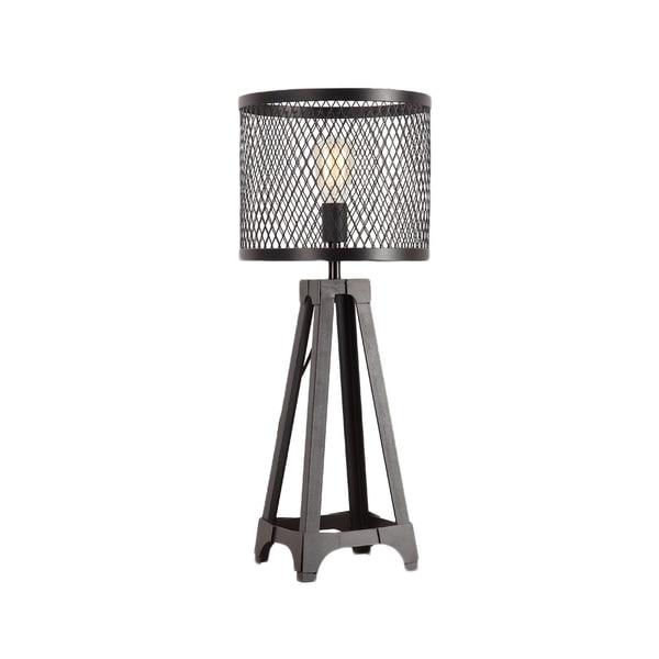 Aurelle Home Industrial Metal Table Lamp