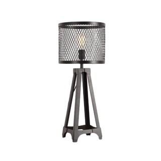 Aurelle Home Industrial Metal Table Lamp