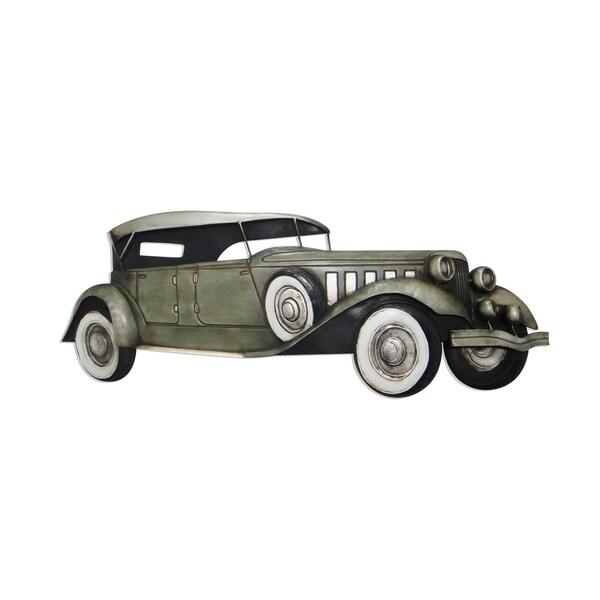 Aurelle Home Classic Car Iron Wall Decor