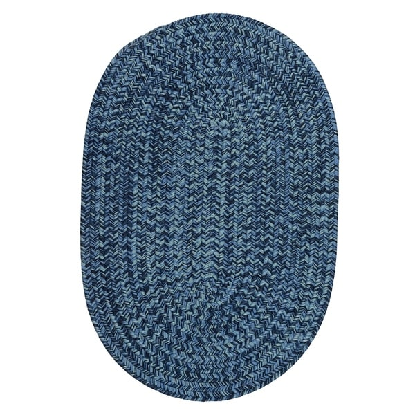 Cameron Tweed Pacific Blue Area Rug - 6' x 9'
