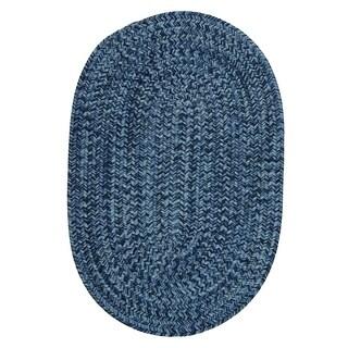Cameron Tweed Pacific Blue Area Rug USA MADE - 5' x 8'