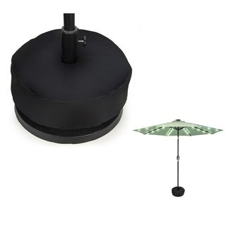 """18"""" Patio Umbrella Sand Base Weight Bag - Round - by Trademark Innovations"""