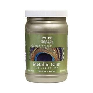 Modern Masters Shimmer Interior Metallic Paint Champagne Satin 1 qt.