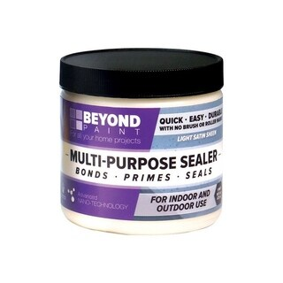 BEYOND PAINT All-In-One Interior/Exterior Acrylic Multi-Purpose Sealer Translucent Satin 1 pt.