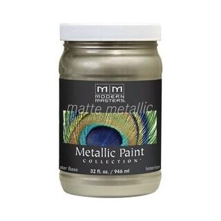 Modern Masters Interior Metallic Paint Champagne Matte 1 qt.