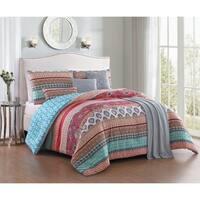 Avondale Manor Martika 7-piece Comforter Set with Bonus Throw