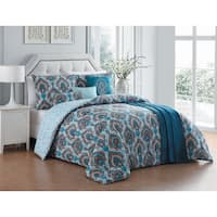 Avondale Manor Everly 7-piece Comforter Set with Bonus Throw