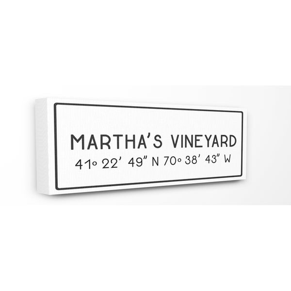 Stupell Industries Martha\'s Vineyard Wall Art - 10 x 24 - Free ...
