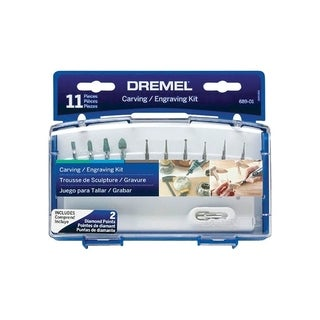 Dremel  Accessory Kit  11 pk