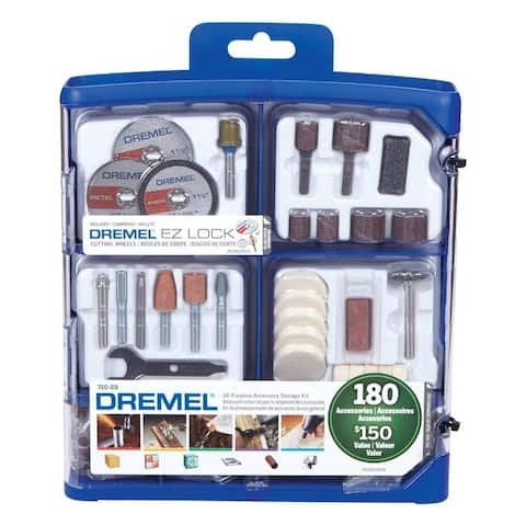 Dremel Metal Rotary Accessory Kit 1-1/2 in. 180 pk