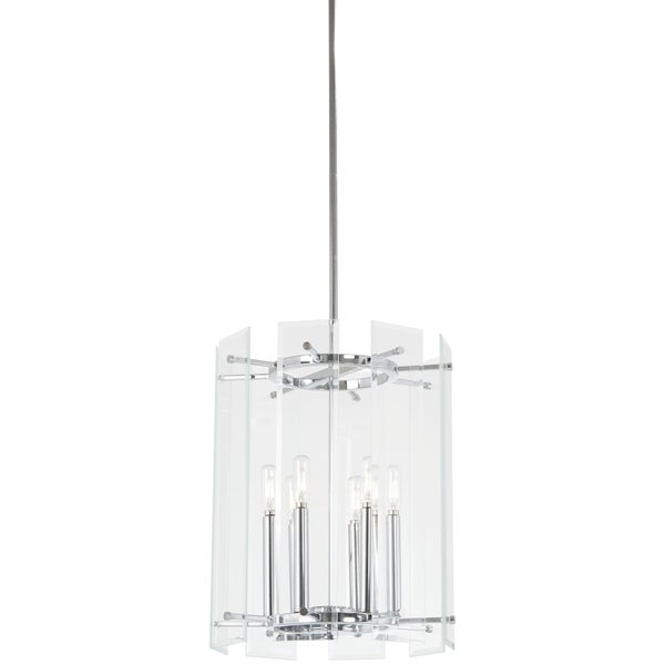 Minka Lavery Beacon Trace 6-Light Chrome Pendant