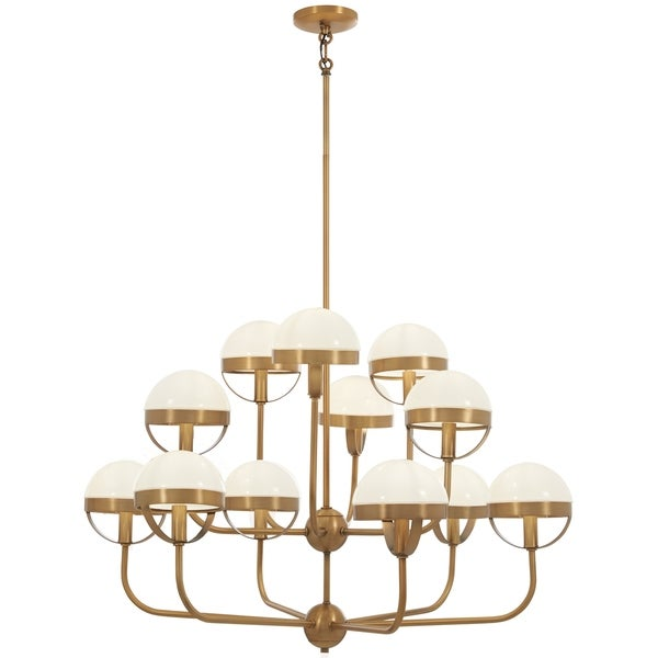 Minka Lavery Tannehill Antique Noble Brass 12-light Chandelier