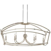 Minka Lavery Jupiter's Canopy 6-Light Polished Nickel Island Light