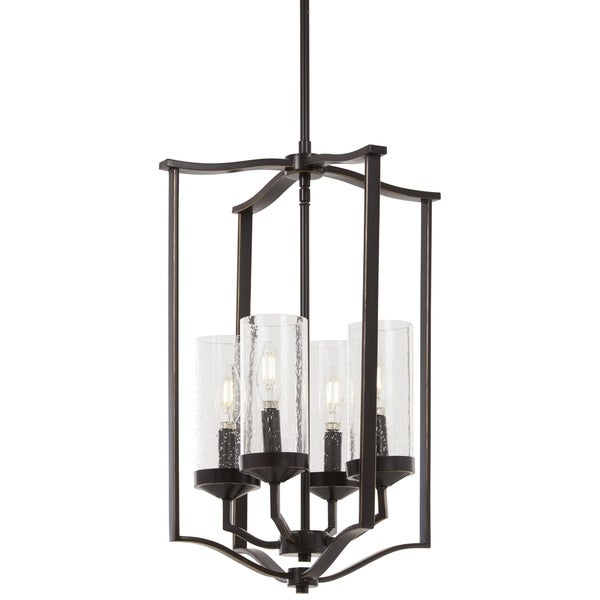 Minka Lavery Elyton 4-Light Downton Bronze With Gold Highl Pendant