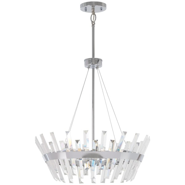 Minka Lavery Echo Radiance 6-Light Chrome Pendant