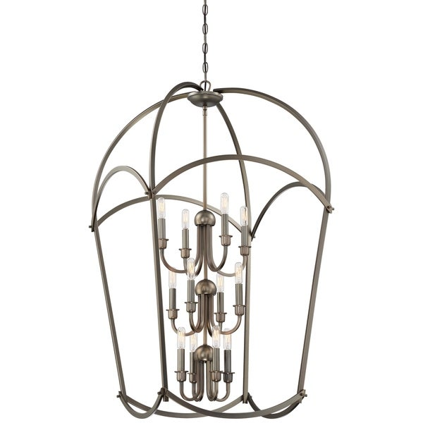 Minka Lavery Jupiter's Canopy 12-Light Harvard Court Bronze (Plated) Pendant