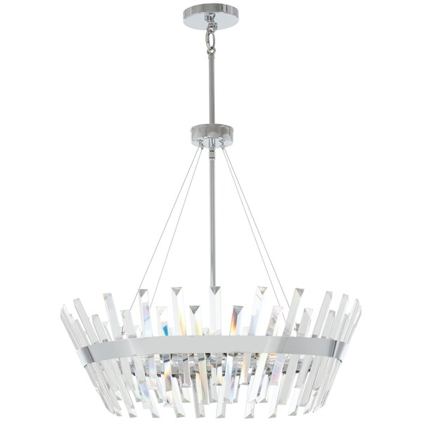 Minka Lavery Echo Radiance 8-Light Chrome Pendant