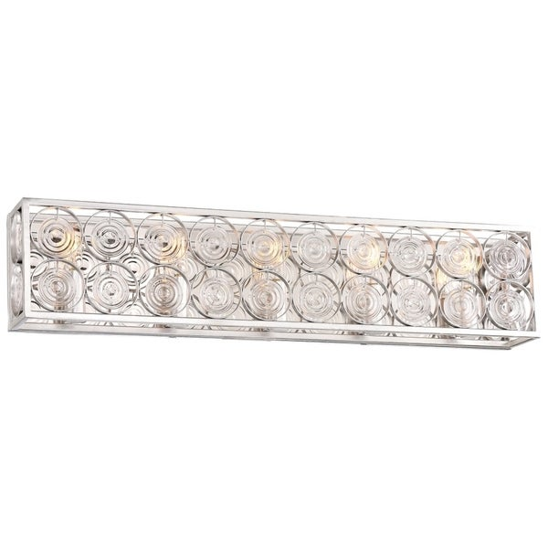 Culture Chic Catalina Silver 5 Light Bath By Minka Lavery. Opens flyout.