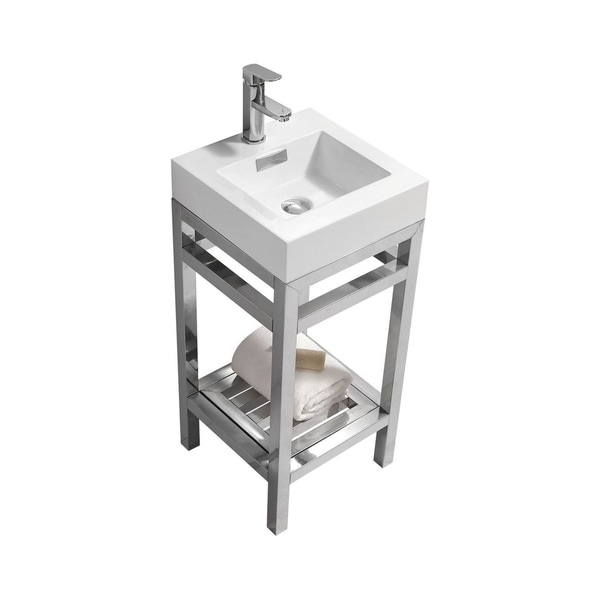 """Cisco 16"""" Stainless Steel Console with Acrylic Sink"""