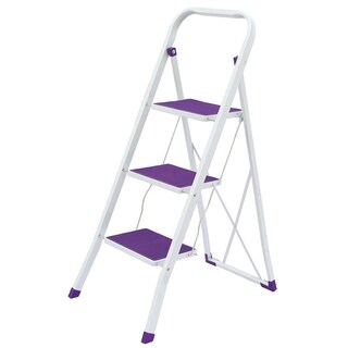 Wee's Beyond Heavy Duty Purple Nonslip 3 Step Ladder