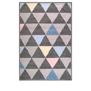 Miranda Haus Designer Pastel -Aztec Area Rug (2' X 3') - 2' x 3'
