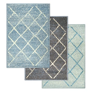 Superior Designer Lattice Area Rug (2' X 3')