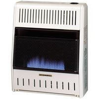 Procom Ventless Liquid Propane Gas Blue Flame Space Heater - 20,000 BTU, Manual Control
