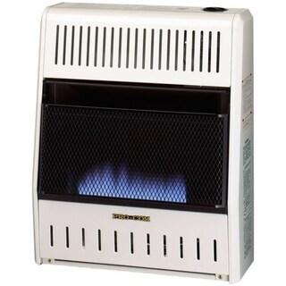 Procom Ventless Liquid Propane Gas Blue Flame Space Heater - 20,000 BTU, Manual Control