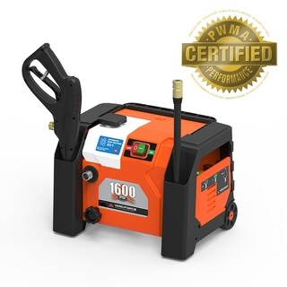 Yard Force 1600 PSI 1.2 GPM All-in-1 Electric Pressure Washer with Turbo Nozzle