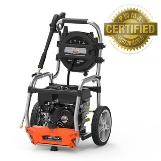 Yard Force 3200 PSI 2.7 GPM Gas Power Pressure Washer with Hose Reel