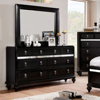 Furniture of America Ayeda II Transitional 2-piece Dresser and Mirror Set