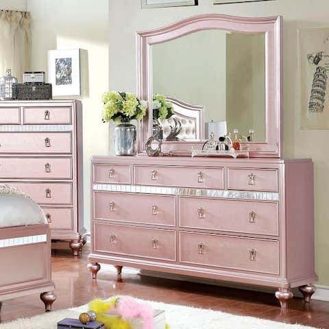 Buy Pink, Horizontal Dressers Online at Overstock | Our Best Bedroom ...
