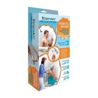 Rinse Ace Assisted Bather System Handheld Showerhead 3 settings 2.5 gpm