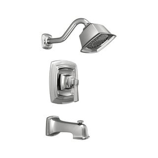 Moen Boardwalk One Handle Tub and Shower Faucet Chrome Finish