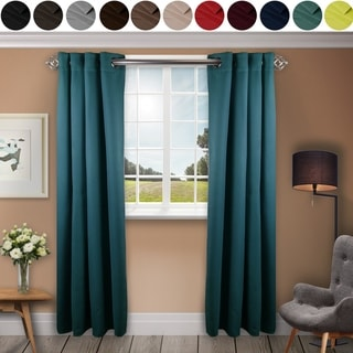 """Link to InStyleDesign 52""""W x 96""""H Premium Heavy Duty Curtain with Grommet (1 Panel) - 52w x 96h - 52w x 96h Similar Items in As Is"""