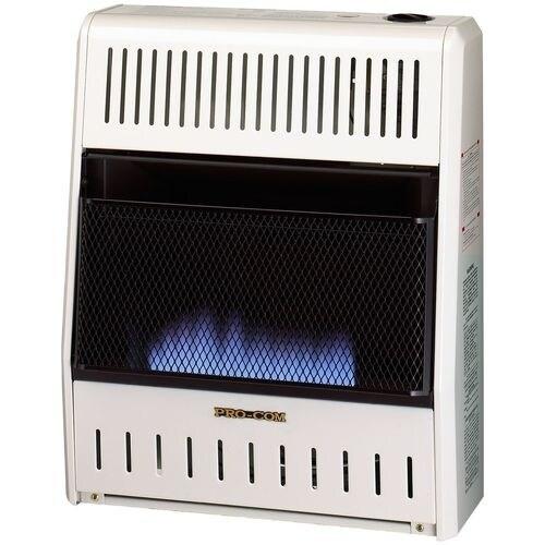 Brilliant Procom Ventless Natural Gas Blue Flame Space Heater 20 000 Btu Manual Control Interior Design Ideas Gentotryabchikinfo