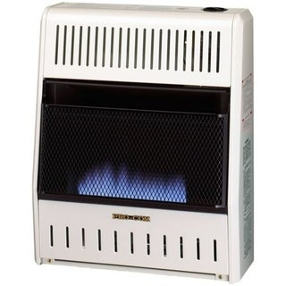 ProCom Ventless Natural Gas Blue Flame Space Heater - 20,000 BTU, Manual Control