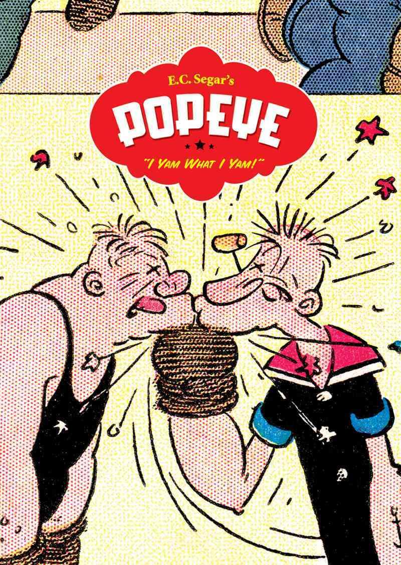 Popeye: I Yam What I Yam (Hardcover)