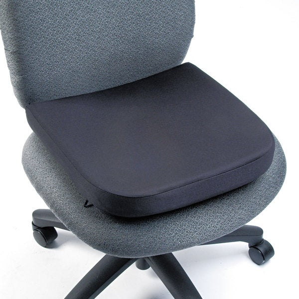 Kensington Memory Foam Seat Rest 15 1/2-inch wide x 16-inch deep x 2-inch high Black
