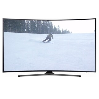 Refurbished Samsung 55 in. Curved 4K Ultra HD Smart LED W/ WIFI - Black